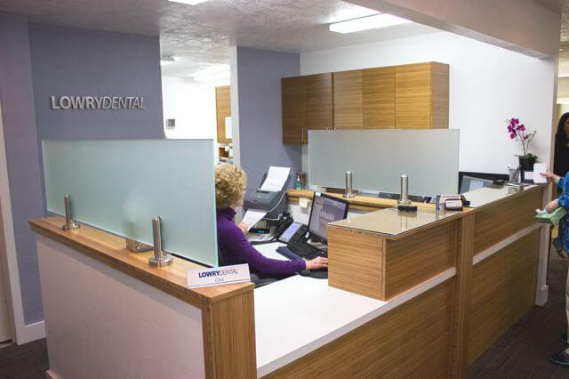Interior-Dentist-Office-back-desk-Lowry-Dental