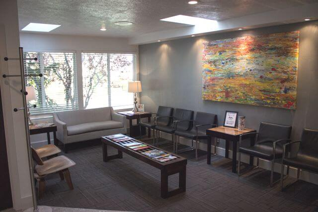 Interior-Dentist-Office-waiting-room-Lowry-Dental-in-boise